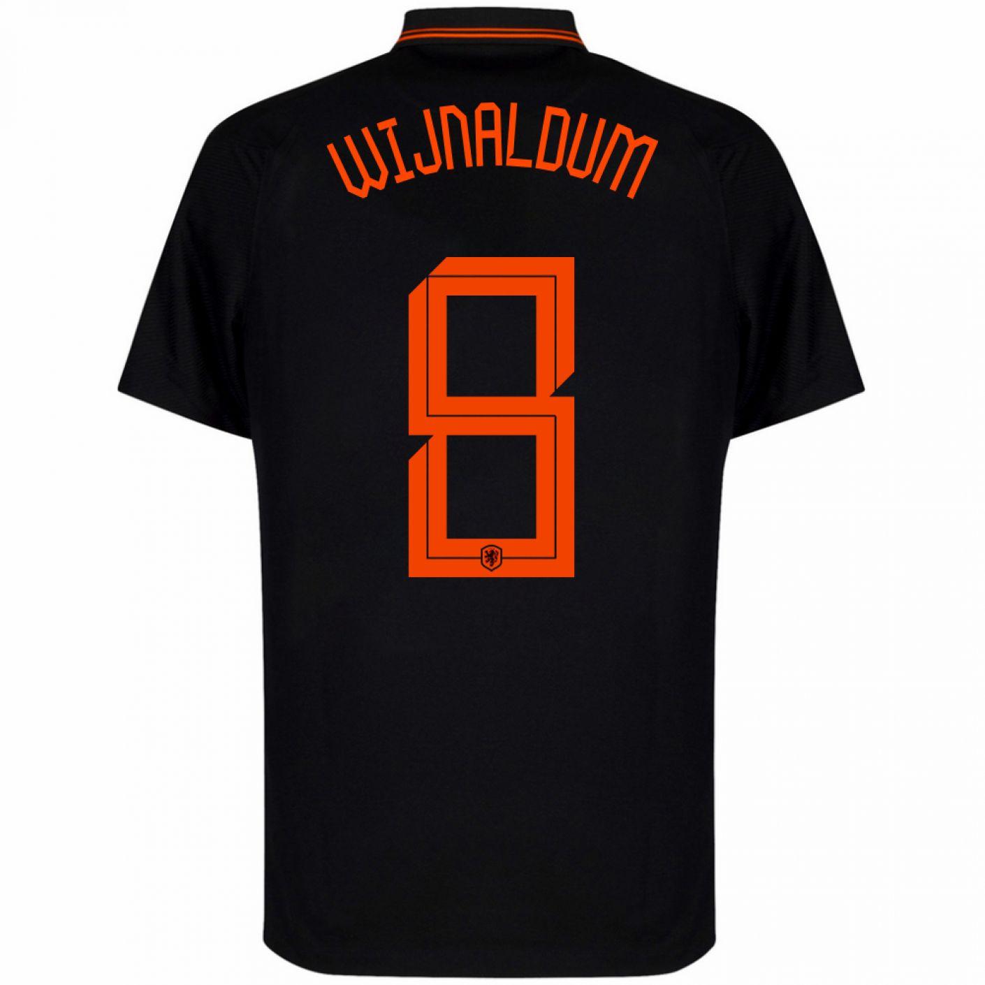 Nike Nederland Wijnaldum 8 Uitshirt 2020-2022