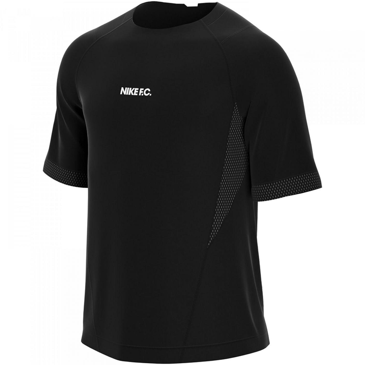 Nike F.C. Elite Trainingsshirt Zwart Wit