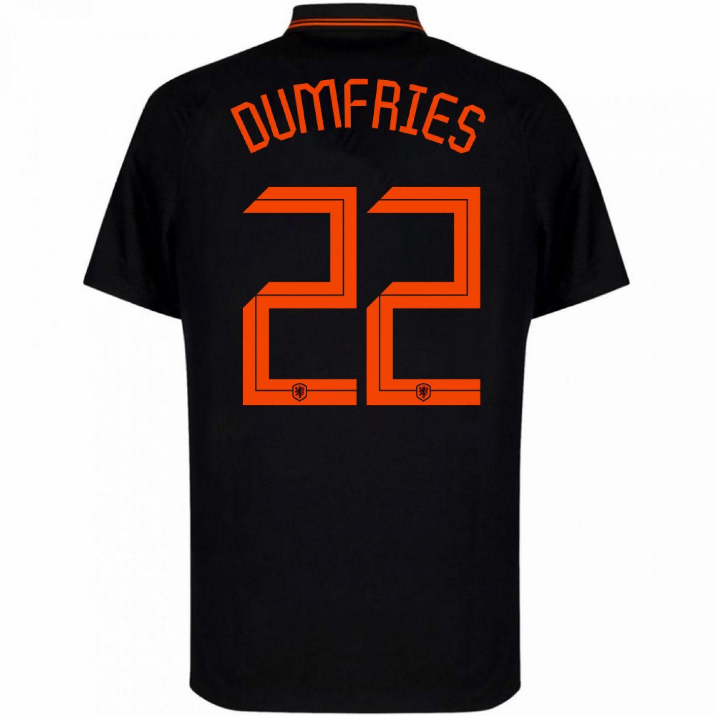 Nike Dumfries 22 Nederland Uitshirt 2020-2022