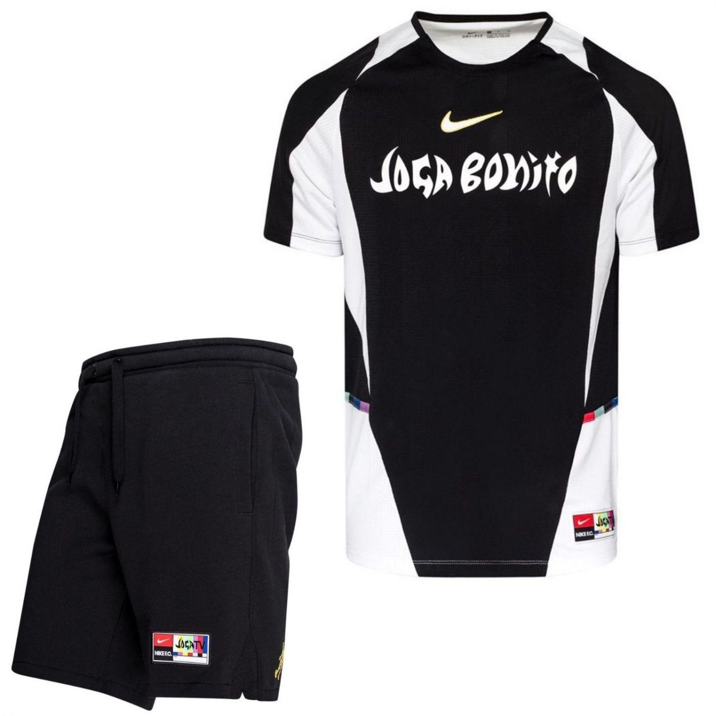 Nike F.C. Home Tenue Zwart Wit Goud