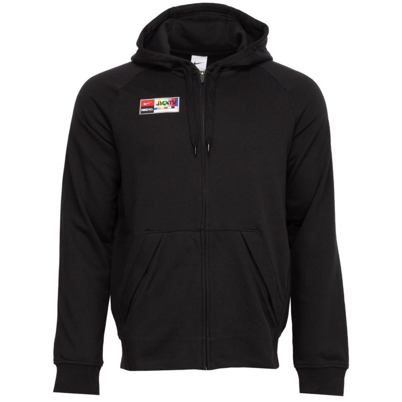 Nike F.C. Hoodie Full-Zip Zwart Wit
