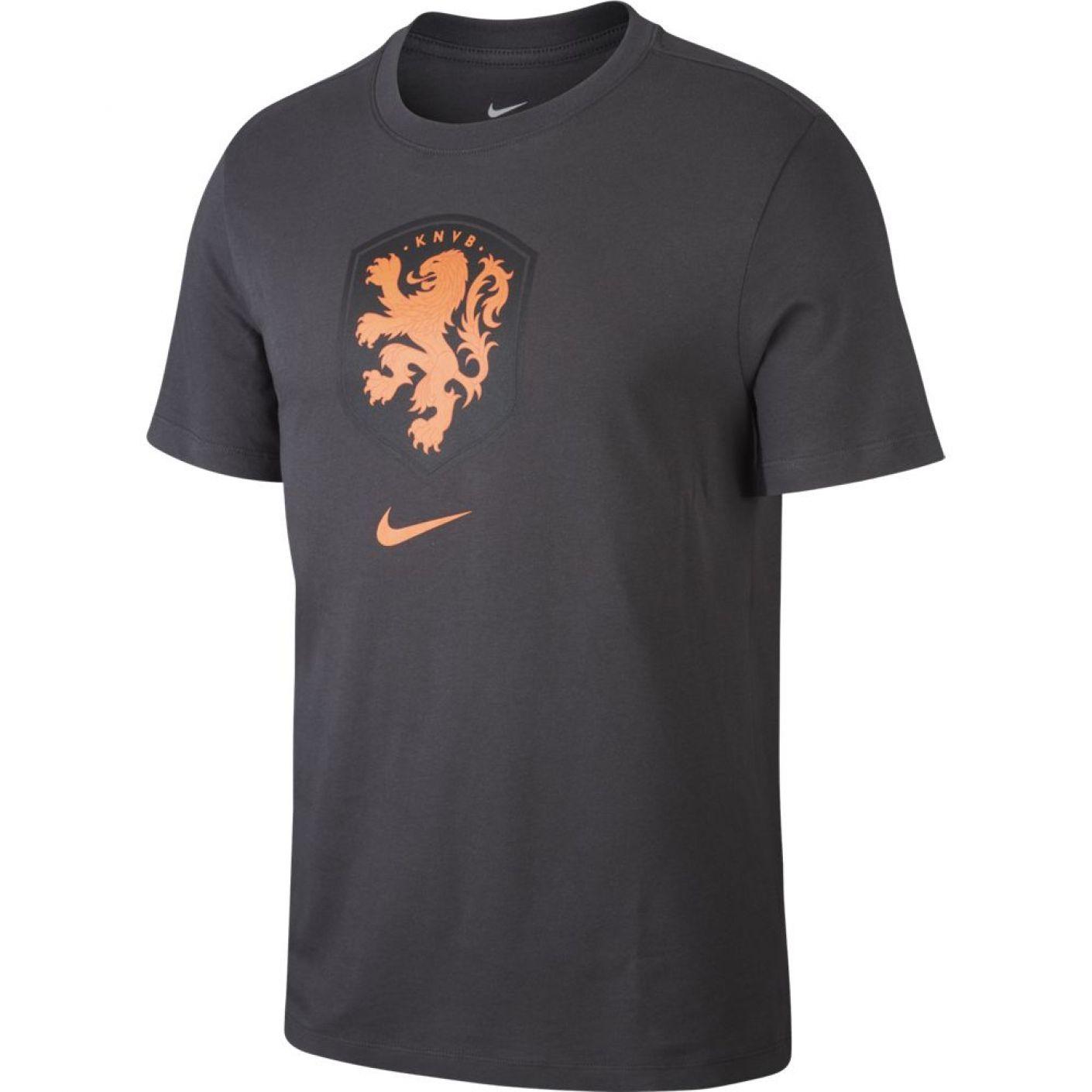 Nike Nederland T-Shirt Logo Antraciet