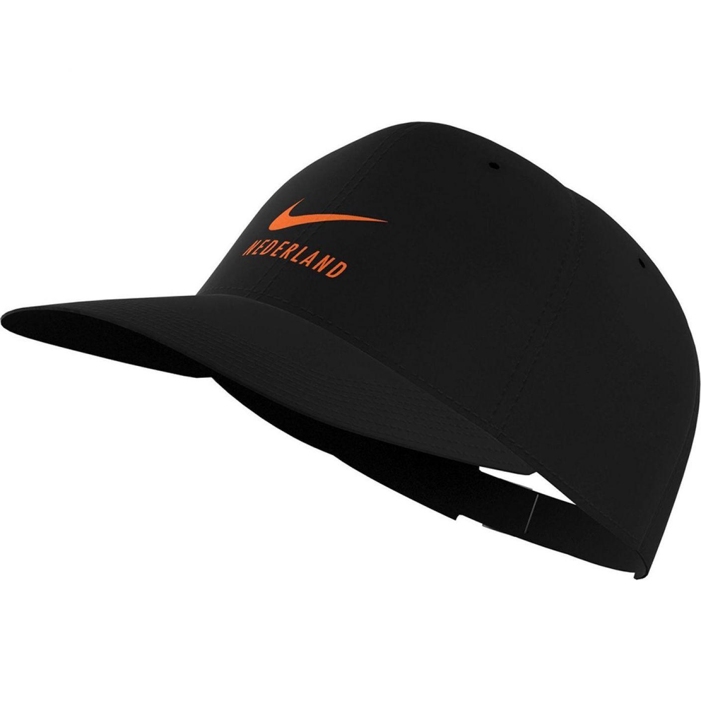 Nike Nederland H86 Pet Swoosh Zwart Oranje