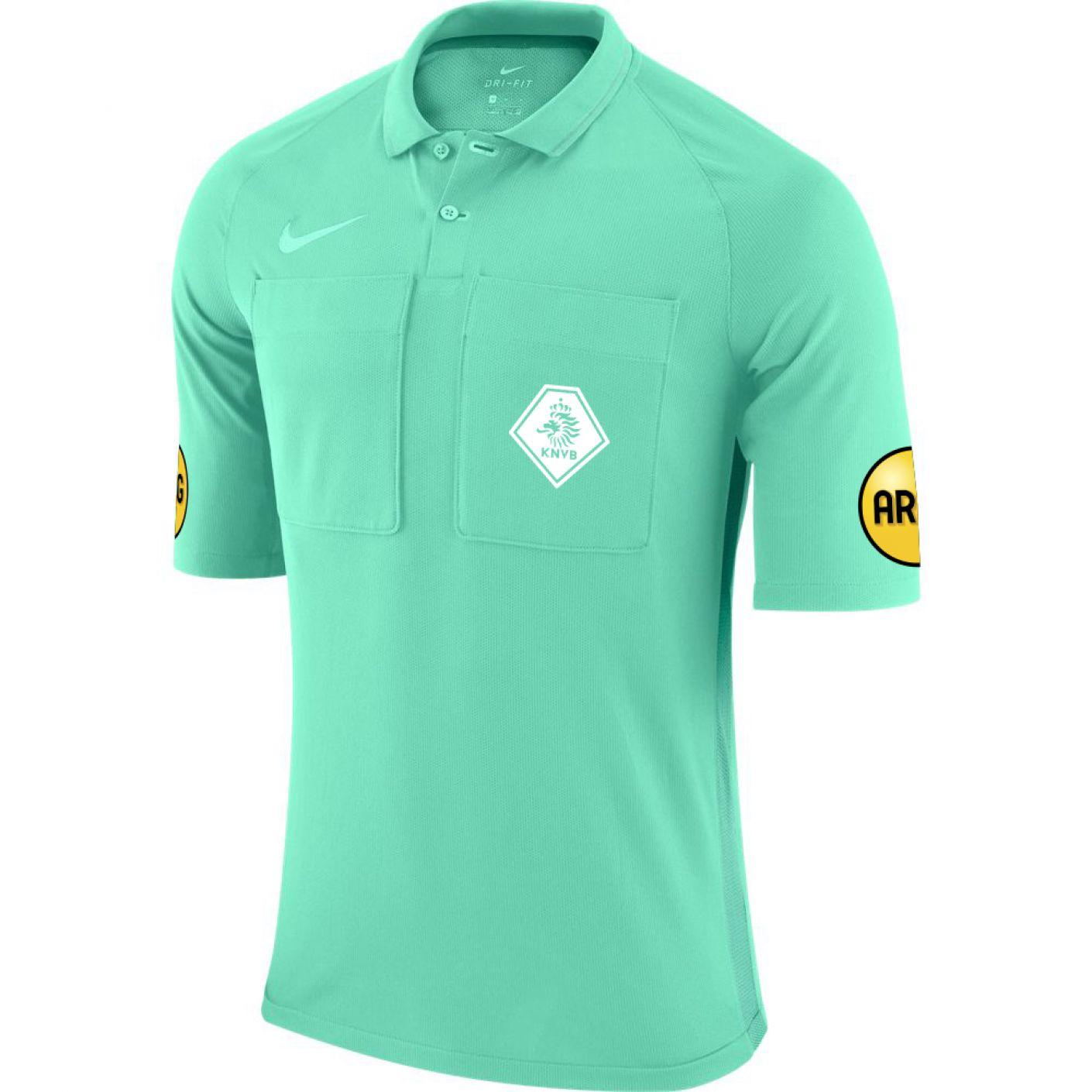 Nike KNVB Scheidsrechtersshirt 2020-2022 Turquoise