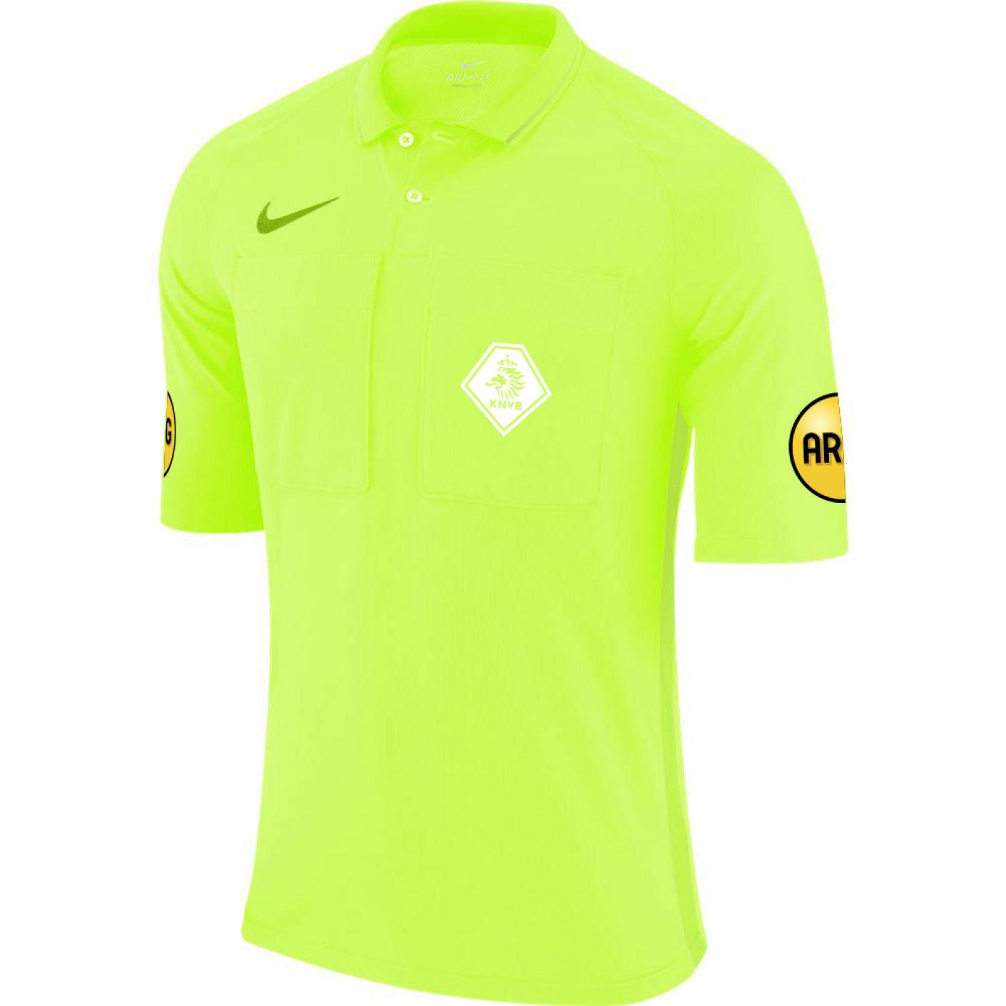 Nike KNVB Scheidsrechtersshirt 2020-2022 Volt