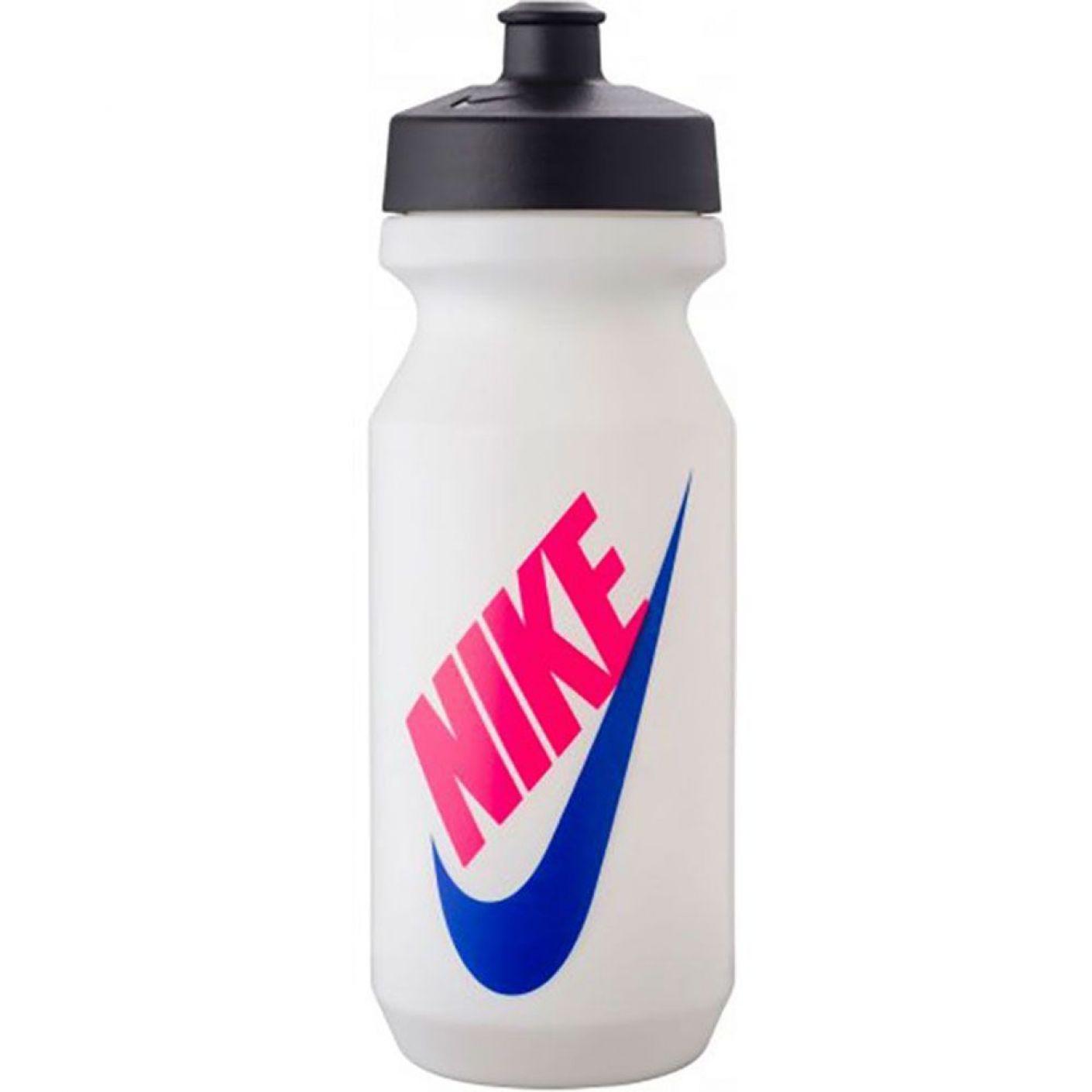 Nike Bidon Big Mouth SW Graphic 2.0 650 ML Wit Zwart Roze Blauw