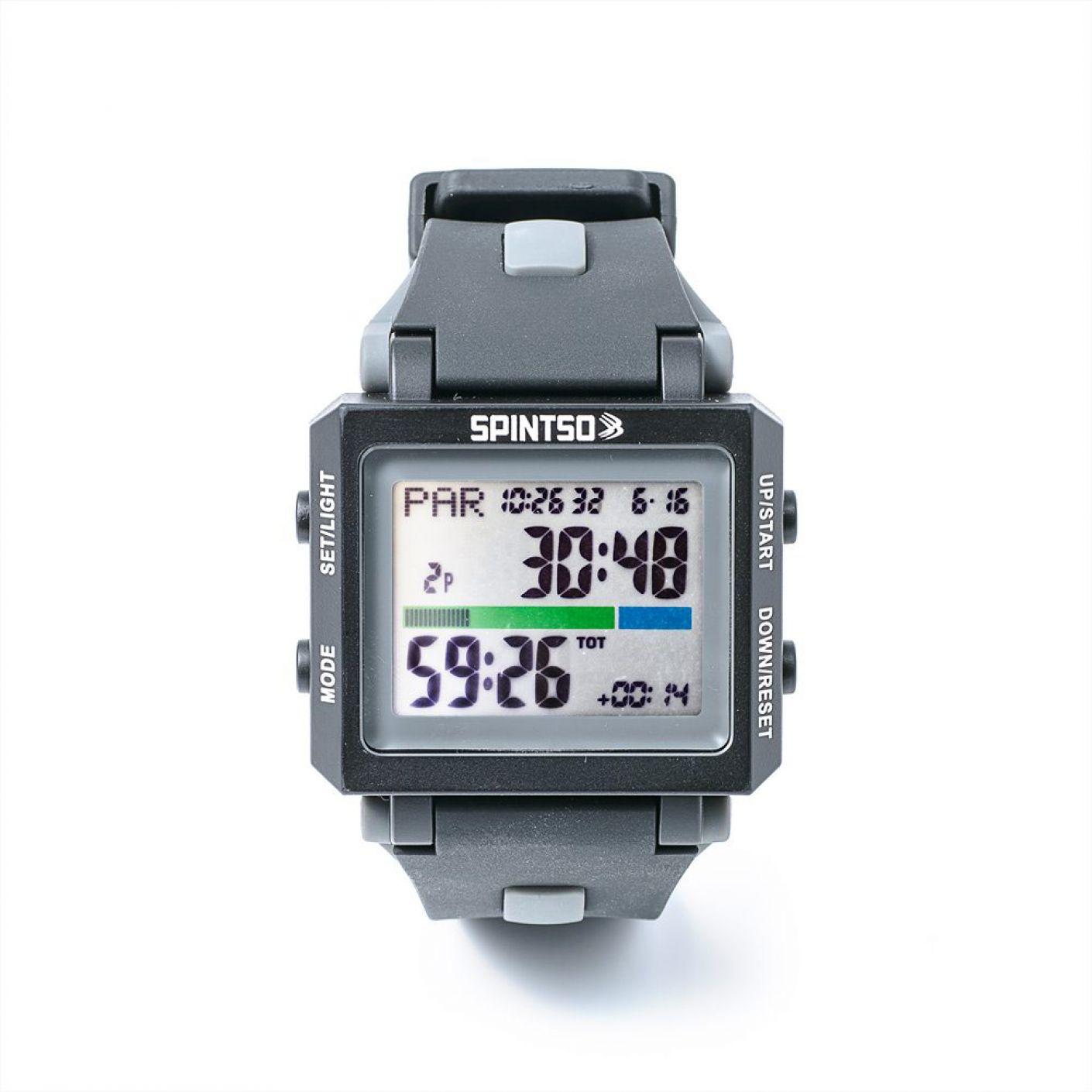 Spintso Horloge 2S Black/Grey