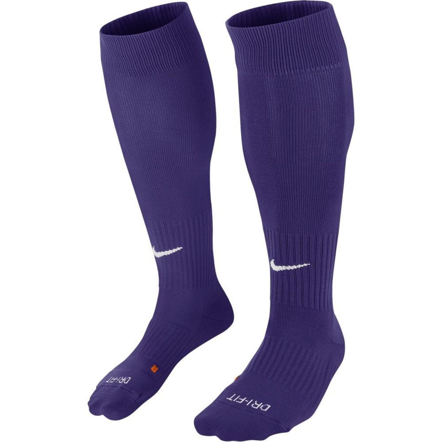 Nike Classic II Football Socks Purple White