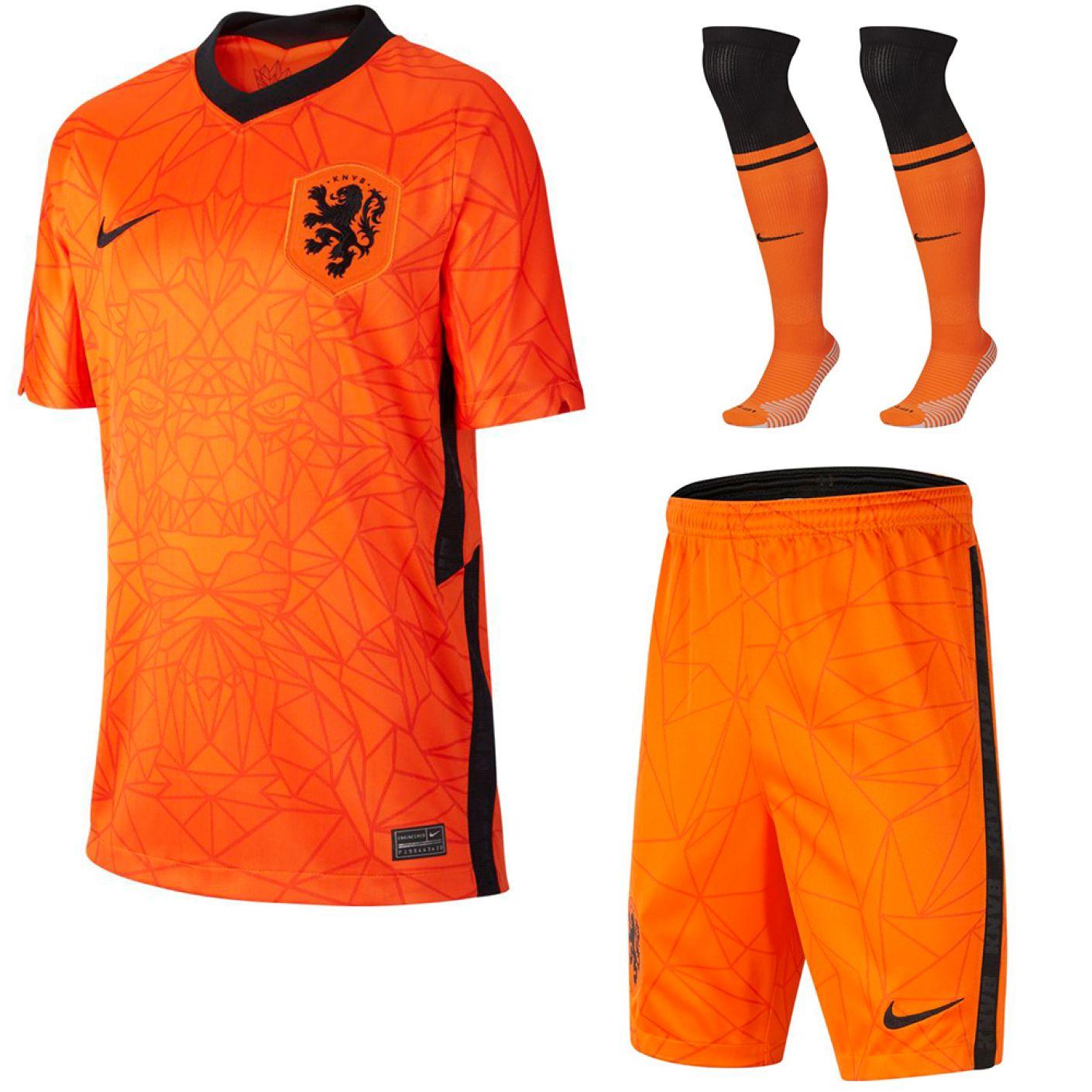 Nike Nederland Thuis Tenue 2020-2022 Kids