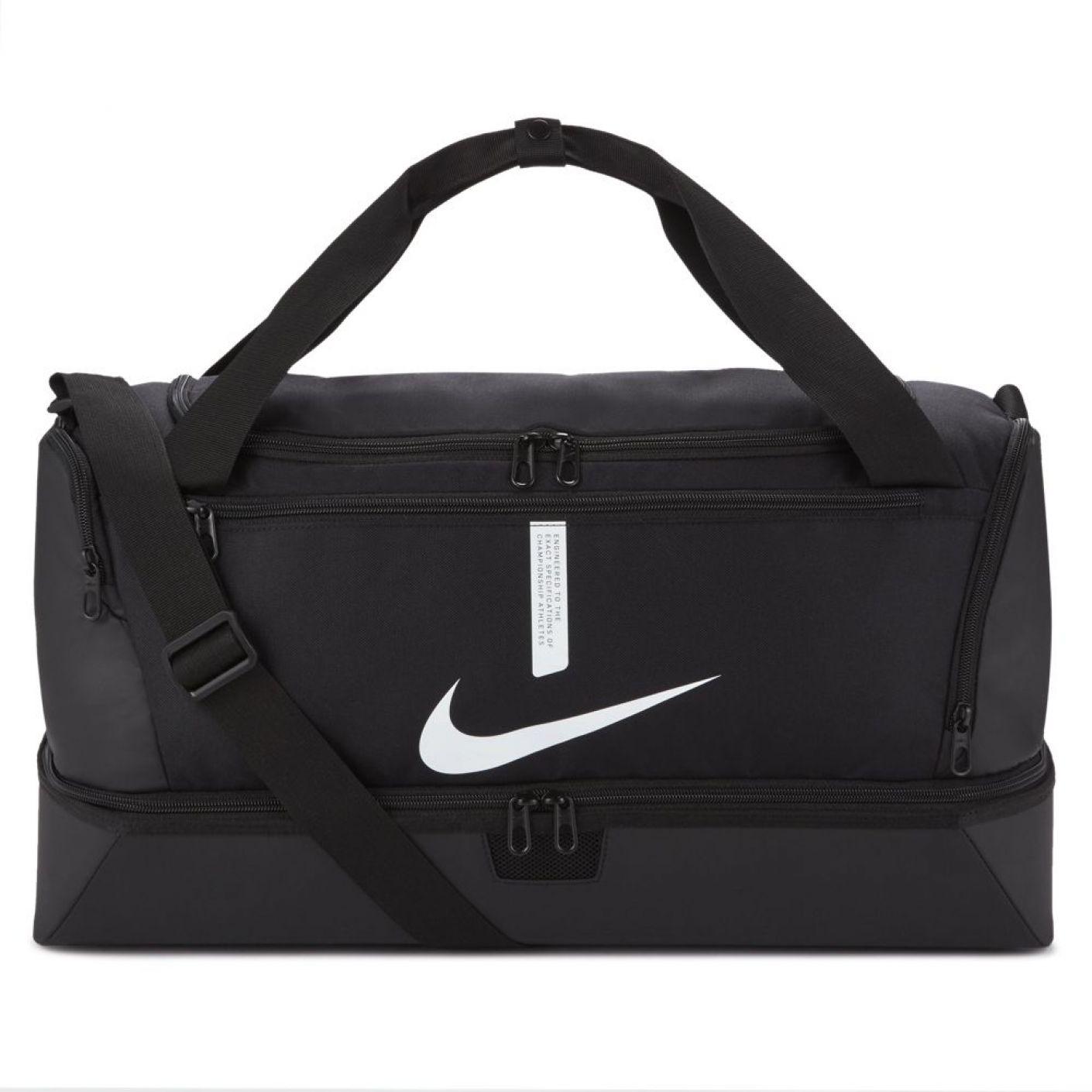 Nike Academy 21 Team Voetbaltas Medium Schoenenvak Zwart