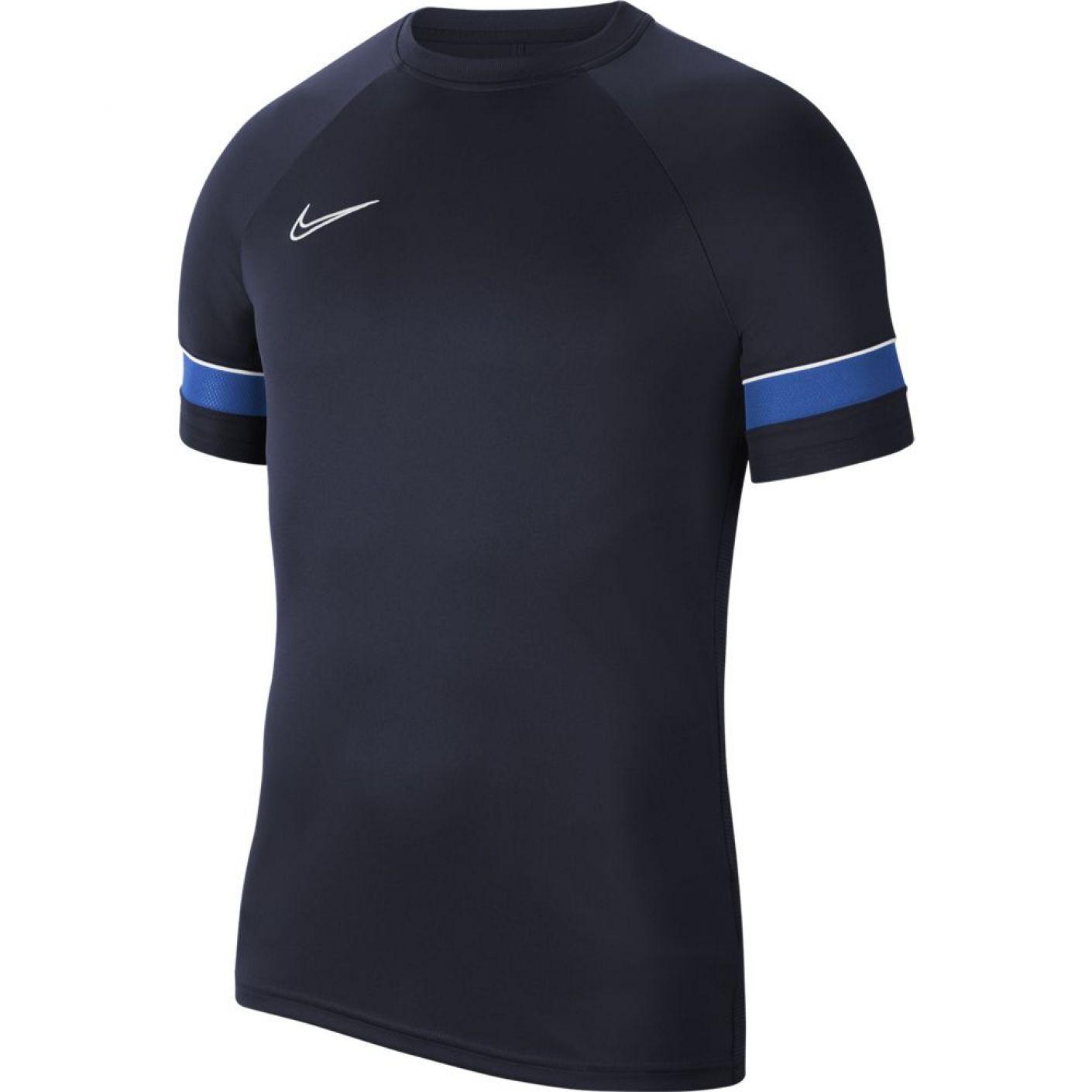 Nike Academy 21 Trainingsshirt Dri-FIT Donkerblauw Blauw - Voetbalshop.nl