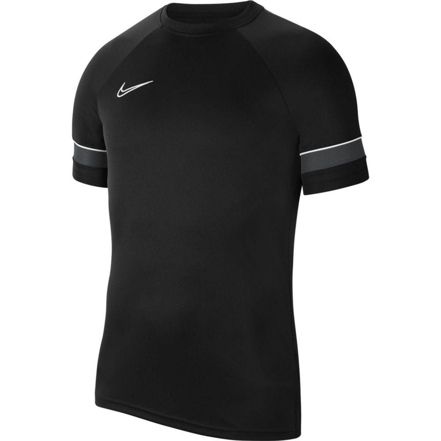 Nike Academy 21 Trainingsshirt Dri-FIT Kids Zwart Zwart