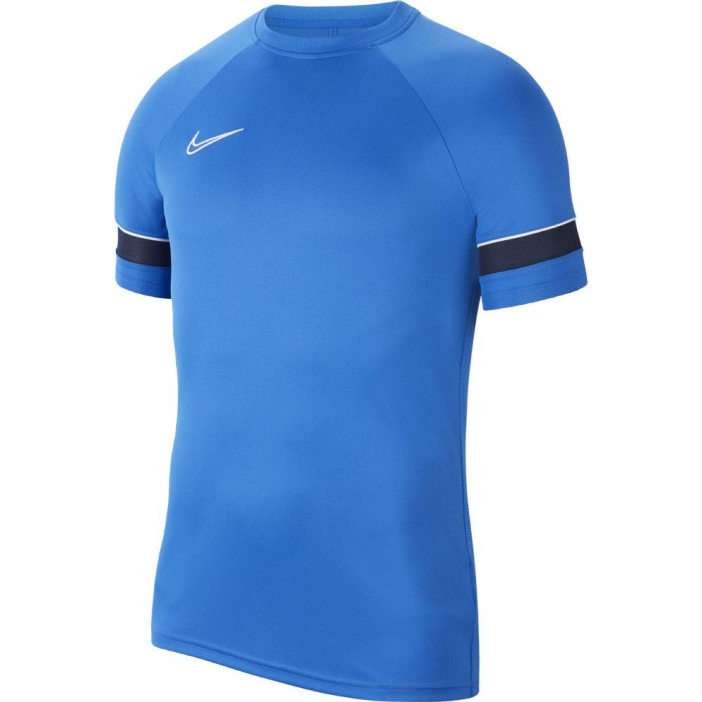 Nike Academy 21 Trainingsshirt Dri-FIT Royal Blauw