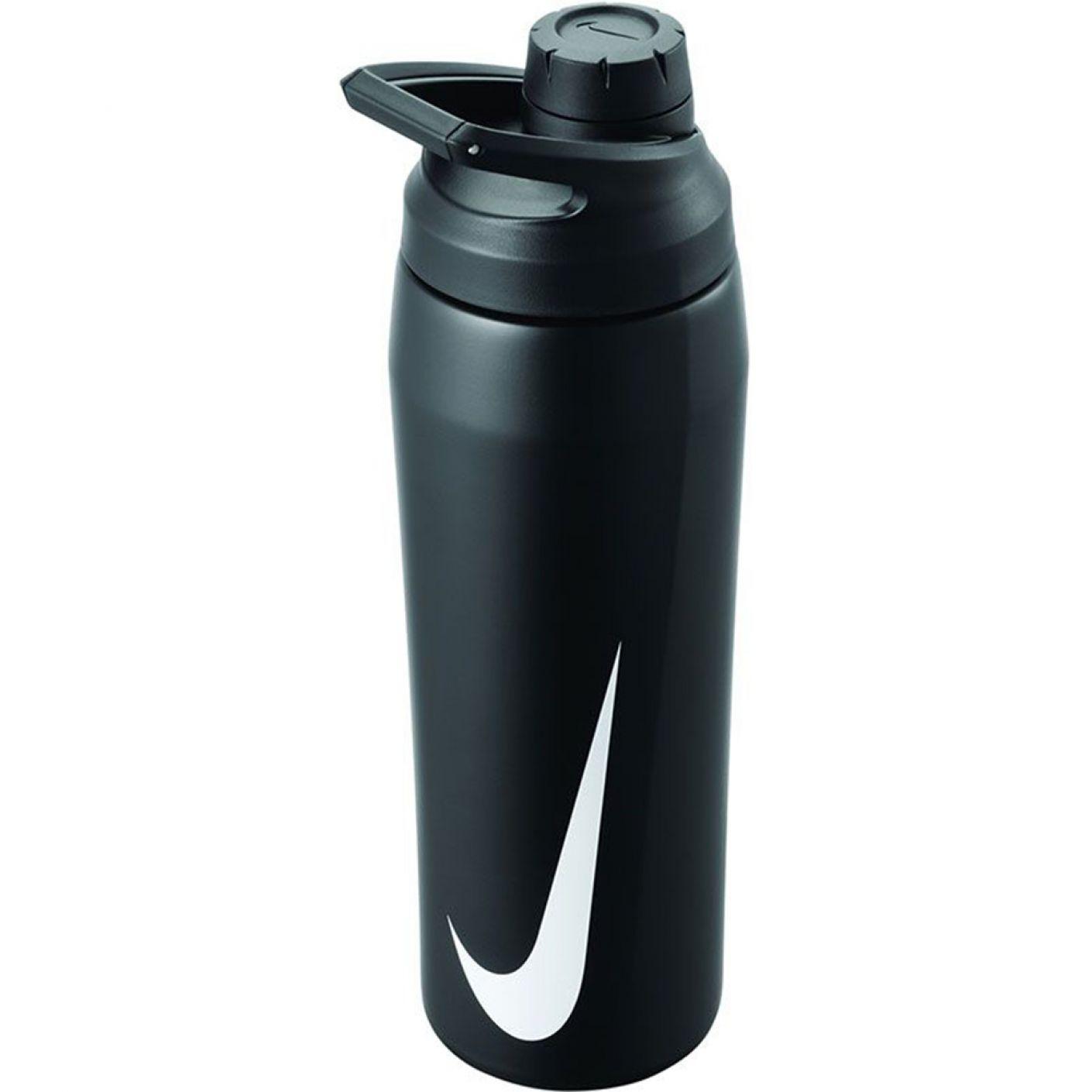 Nike Hypercharge Roestvrijstalen Drinkfles 700ml Zwart