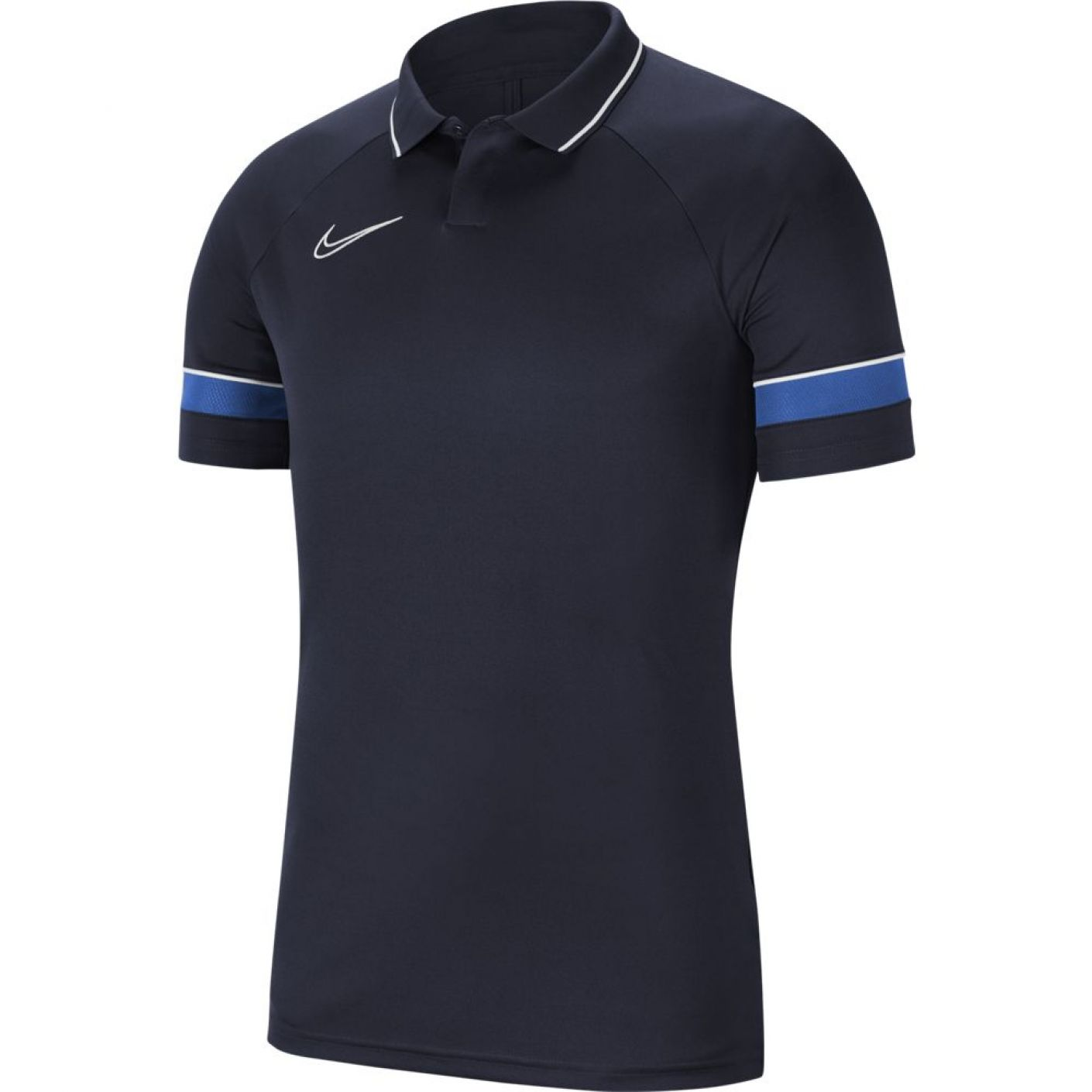 Nike Polo Academy 21 Donkerblauw