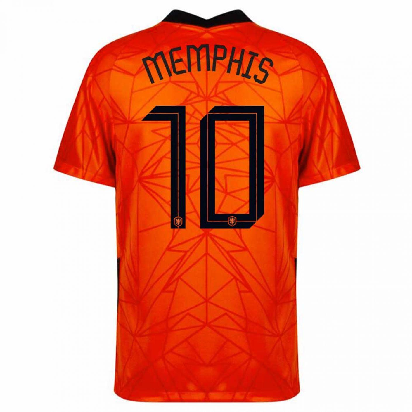 Nike Memphis 10 Nederland Thuisshirt Kids 2020-2022