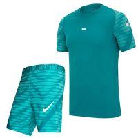 Nike Trainingsset Strike 21 Turquoise Wit
