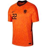 Nike Dumfries 22 Nederland Thuisshirt 2020-2022