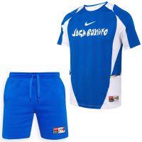 Nike F.C. Home Tenue Blauw Wit