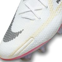 Nike Phantom GT 2 Elite Gras Voetbalschoenen (FG) Wit Zwart Rood Roze