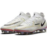 Nike Phantom GT 2 Elite DF Gras Voetbalschoenen (FG) Wit Zwart Rood Roze