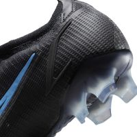 Nike Mercurial Vapor 14 Elite Gras Voetbalschoenen (FG) Zwart Donkergrijs