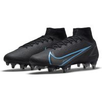Nike Mercurial Superfly 8 Elite Soft Ground Football Boots Black