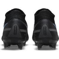 Nike Phantom GT 2 Elite DF Gras Voetbalschoenen (FG) Zwart Donkergrijs
