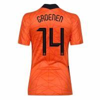 Nike Nederlands Elftal Groenen 14 Thuisshirt Dames