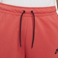 Nike Tech Fleece Broekje Lichtrood Zwart