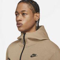 Nike Tech Fleece Hoodie Full-Zip Lichtbruin Wit Zwart