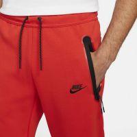 Nike Tech Fleece Trainingsbroek Liverpool 2021-2022 Rood Zwart