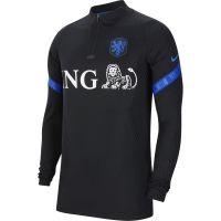 Nike Nederland VaporKnit Strike Trainingstrui 2020-2022 Zwart