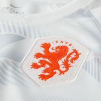 Nike Nederland Pre Match Trainingsshirt 2020-2022 Kids Wit