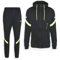 Nike Dry Strike Trainingspak Hoodie Zwart Volt