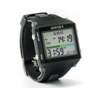 Spintso Horloge Black/Grey