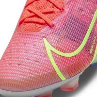 Nike Mercurial Vapor 14 Elite Gras Voetbalschoenen (FG) Rood Zilver