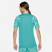 Nike Strike 21 Trainingsshirt Turquoise Wit