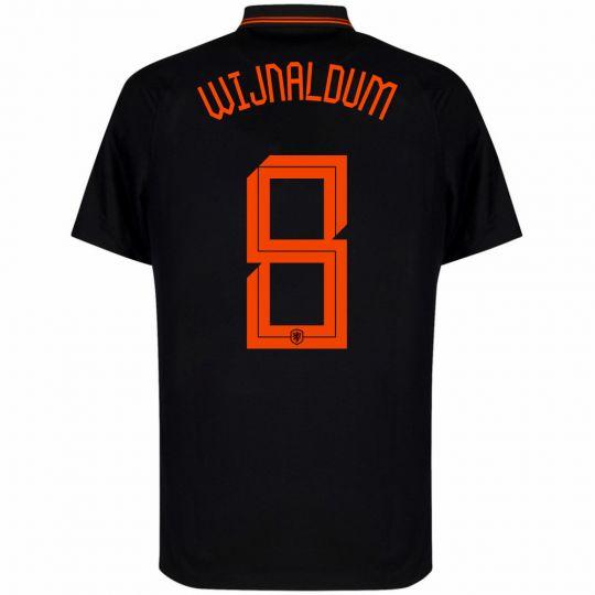 Nike Wijnaldum 8 Nederland Uitshirt 2020-2022 Kids