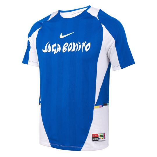 Nike F.C. Home Voetbalshirt Blauw Wit Lime