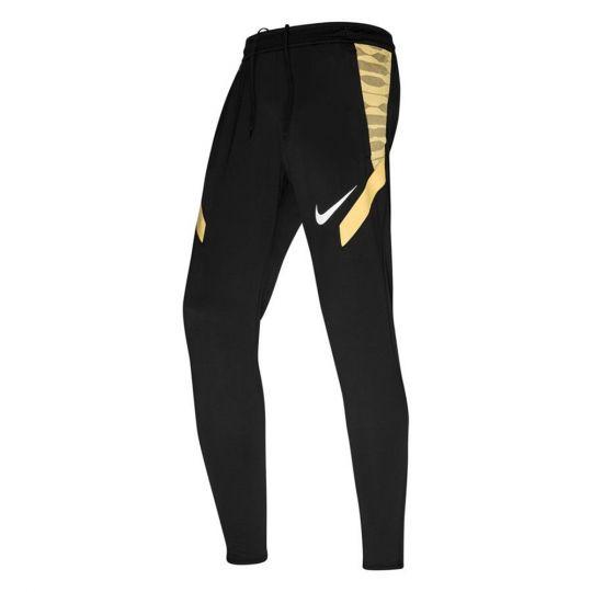 Nike Trainingsbroek Strike 21 Zwart Goud Wit