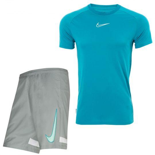 Nike Trainingsset Academy Blauw Lichtgrijs