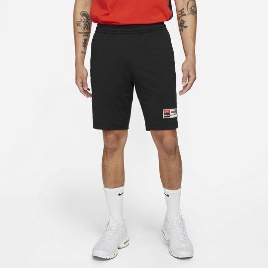 Nike F.C. Broekje Zwart Rood