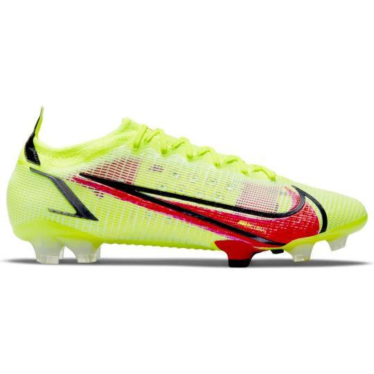 Nike Mercurial Vapor 14 Elite Voetbalschoenen (FG) Geel Rood Zwart