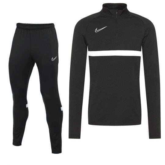 Nike Academy Tracksuit Black White