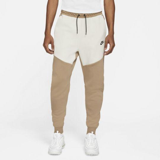 Nike Tech Fleece Pants Brown White