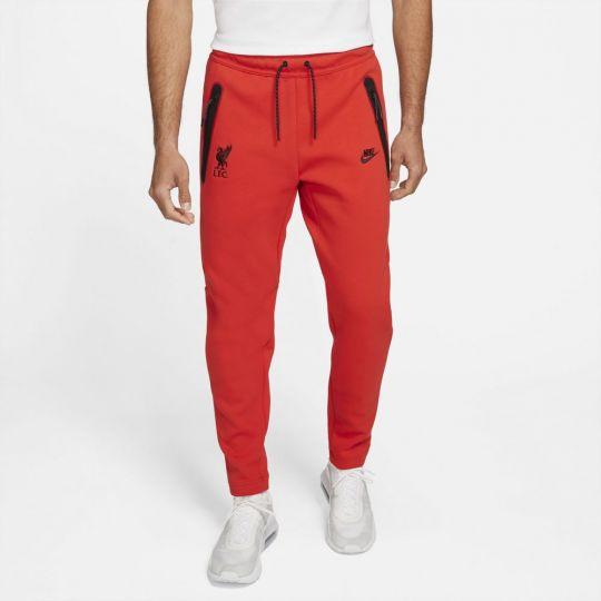 Nike Tech Fleece Tracksuit Liverpool 2021-2022 Red Black