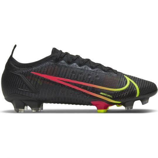 Nike Mercurial Vapor 14 Elite Grass Football Boots (FG) Black Yellow