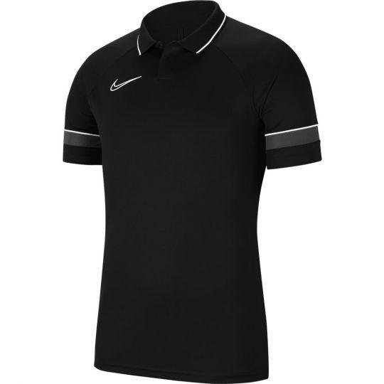 Nike Polo Academy 21 Zwart Grijs Wit