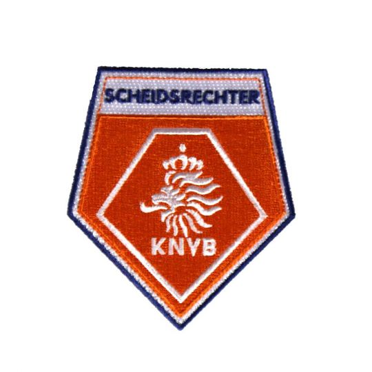 Scheidsrechters Badge Oranje Blauw